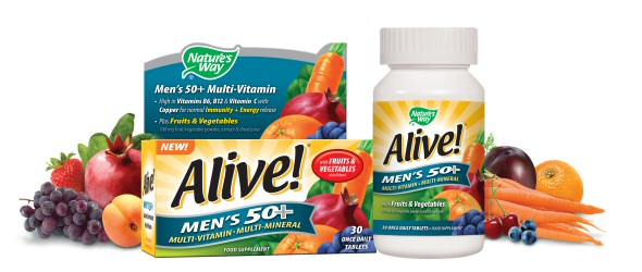Men's 50+ Multi-vitamin & Multi-mineral