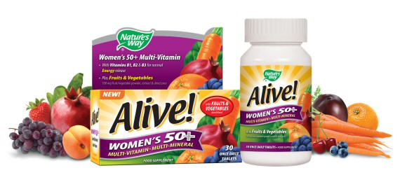 Women's 50+ Multi-vitamin & Multi-mineral